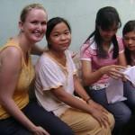 Vietnam Volunteer Christie Class