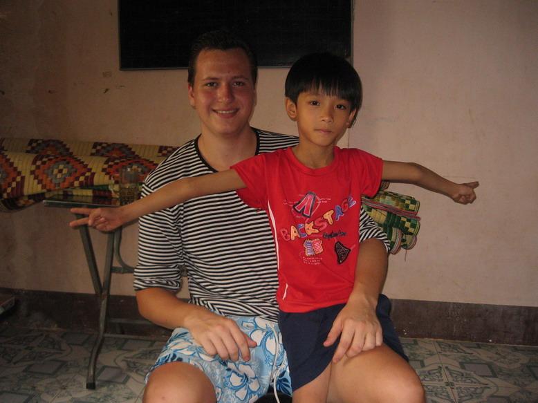 Vietnam Volunteer Mikkel Larsen Smiles
