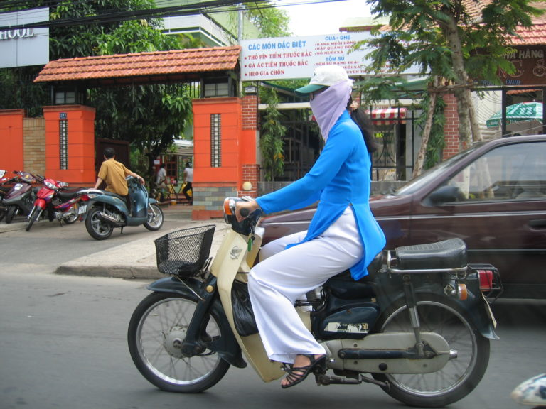 Vietnam Volunteering Motorbike
