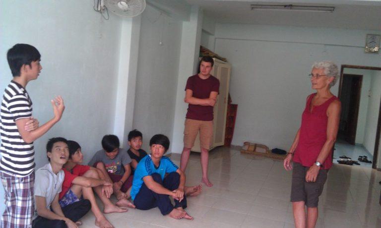 Vietnam Volunteering Teaching Leslie