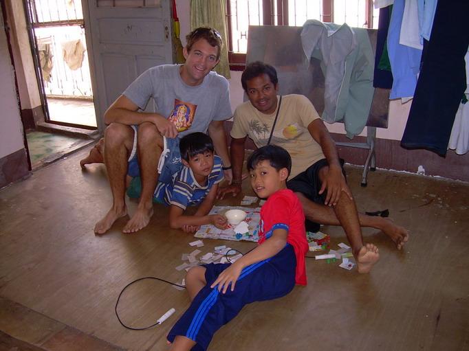 Vietnam Volunteers Norman Kirby Ankur Agrawal Smiles