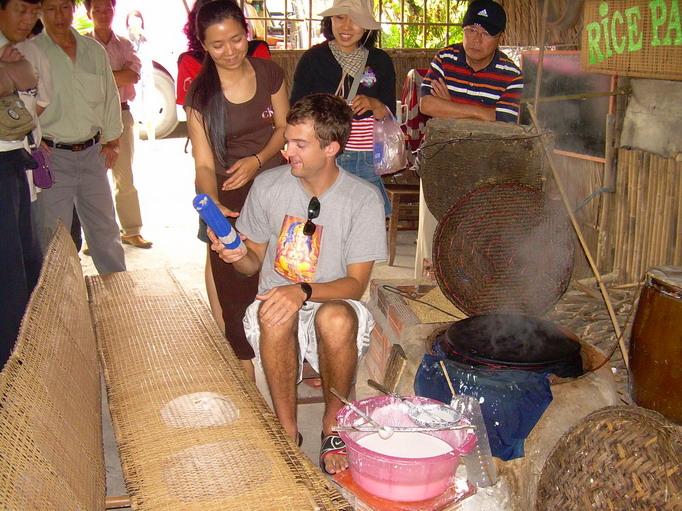 Vietnam Volunteers Norman Kirby Ankur Agrawal Mixing