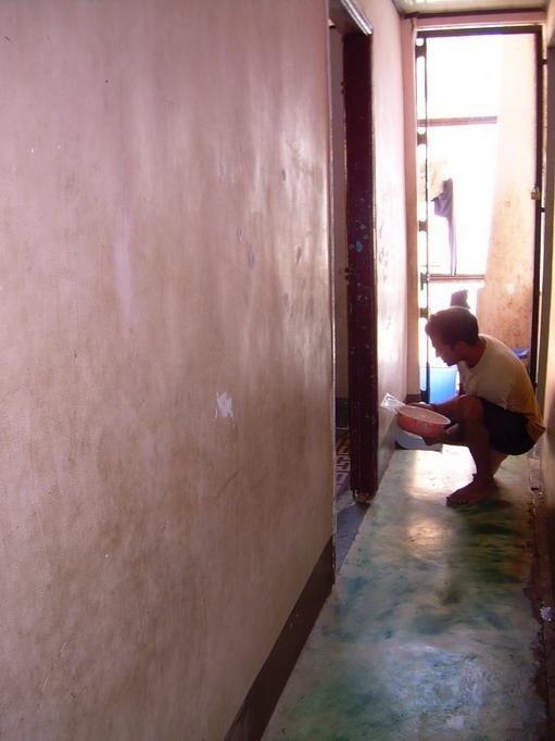 Vietnam Volunteers Norman Kirby Ankur Agrawal Hallway