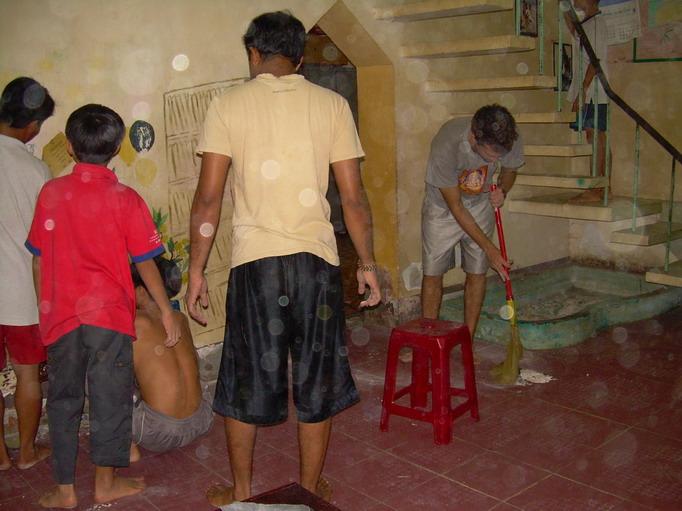 Vietnam Volunteers Norman Kirby Ankur Agrawal Rollers