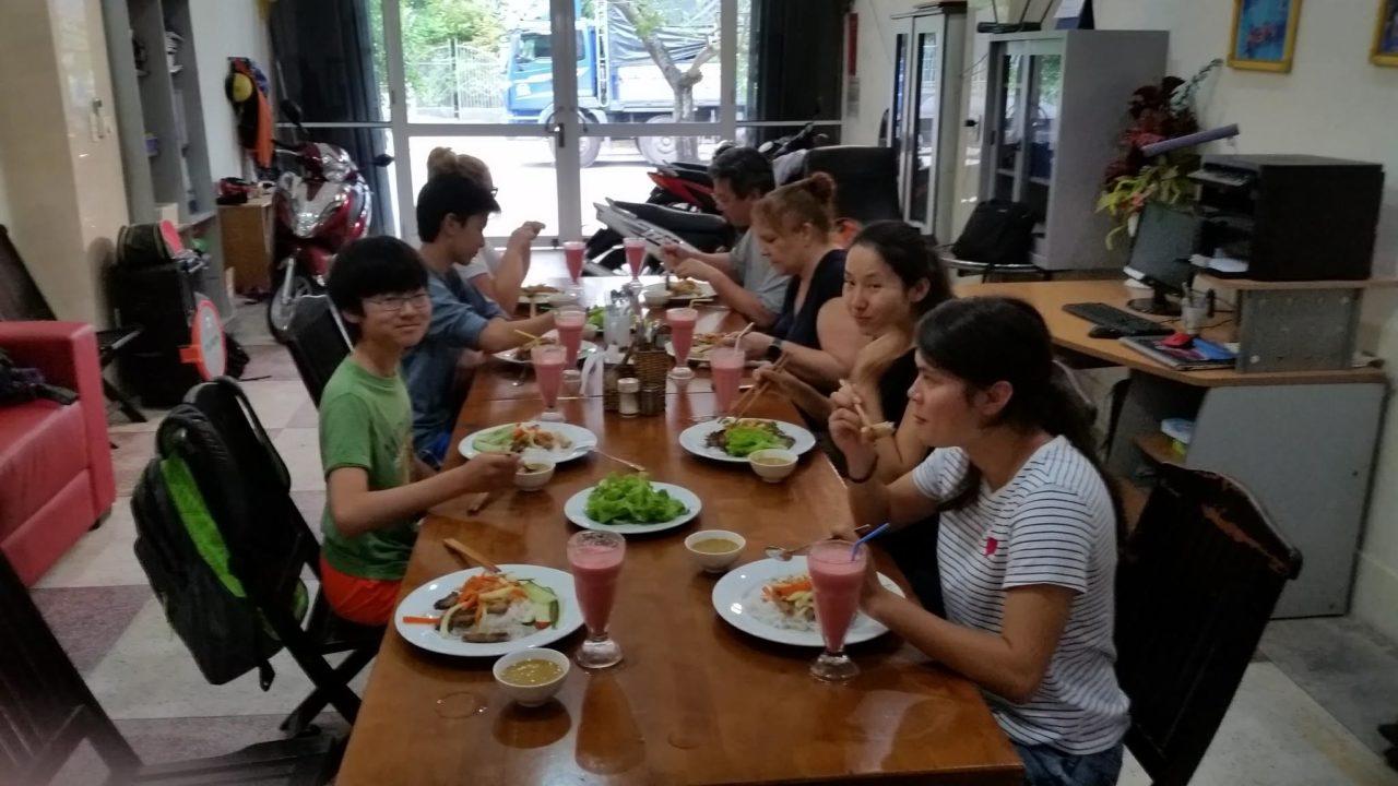 Volunteer House Da Nang Meal